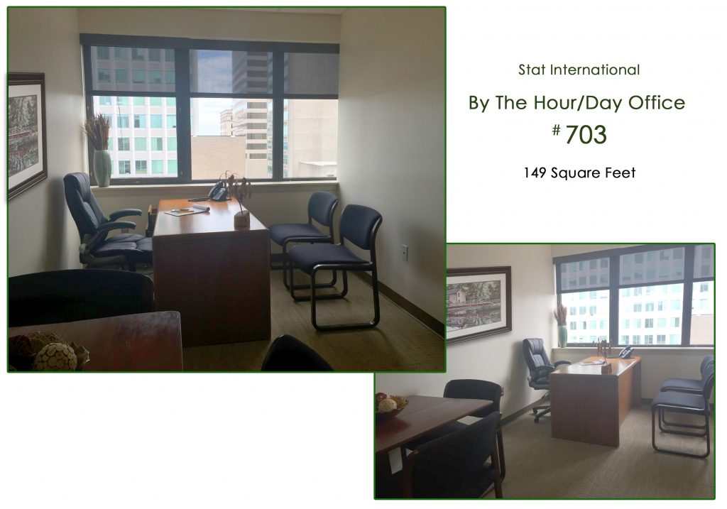 ByThe Hour or Day Rental Office 149SF 703
