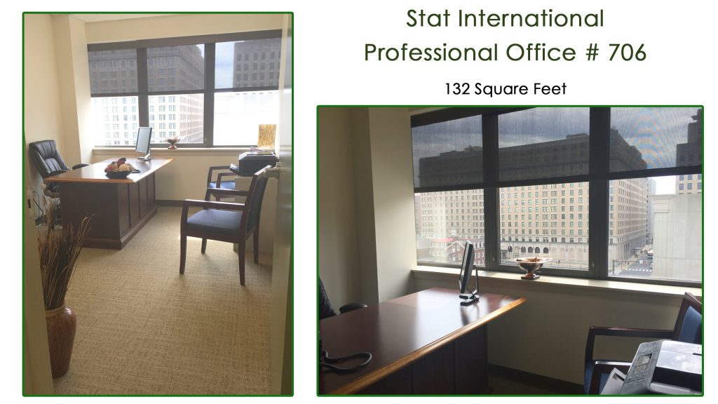 Stat International Professional Office Rental 132SF 706